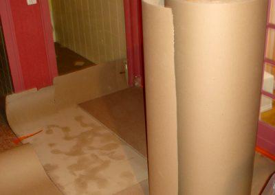 Salle de bains préparation travaux, suite