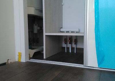 Nourisse sanitaire avec chauffe eau électrique - Marin Plomberie