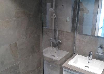 Salle de bains après les travaux